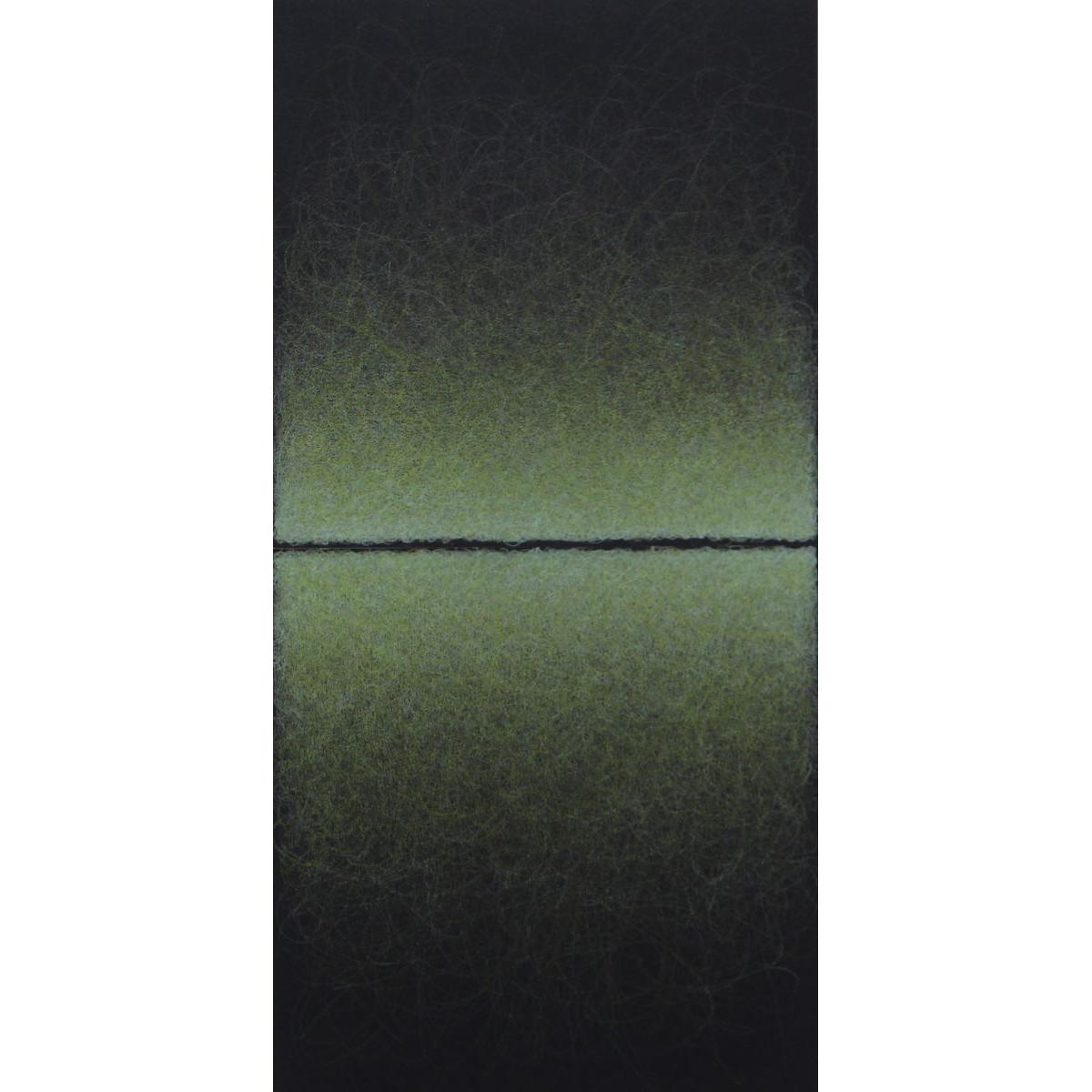 Quantum Entanglement (Yellow Green Diptych)